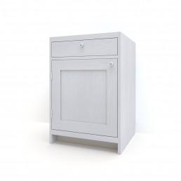 Bänkskåp med lucka & låda
