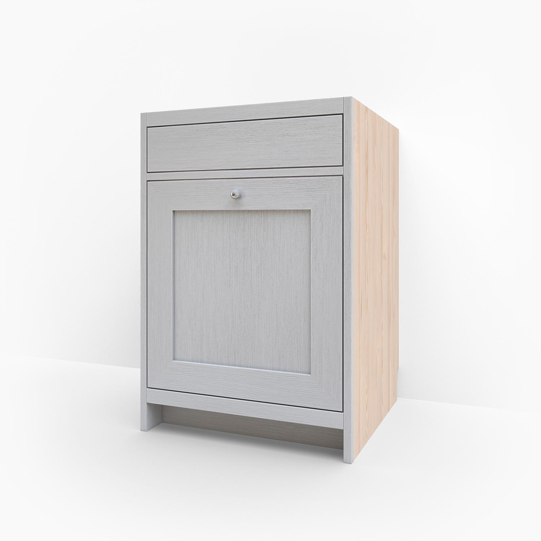 Vaskskåp för diskho med stor låda